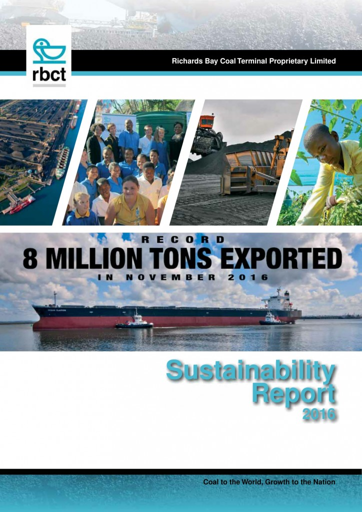 Sustainability Report 2016 cover-1