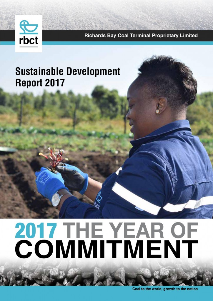 Sustainability Report 2017 cover
